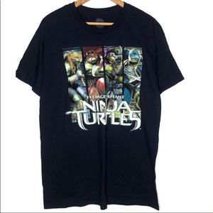 TMNT Classic Graphic Short Sleeves T-Shirt Large